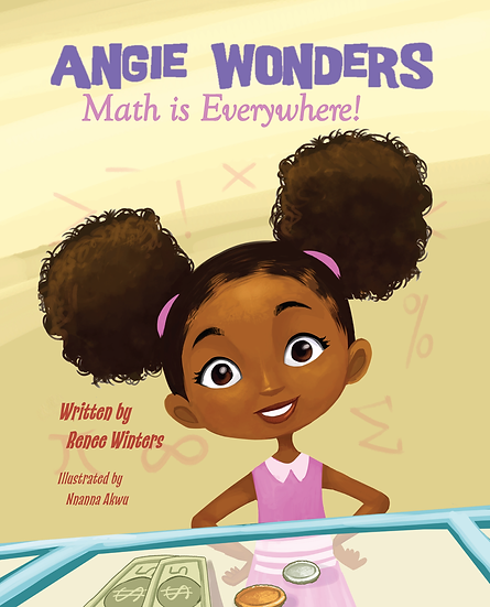 Angie Wonders: Math is Everywhere-Autographed Copy