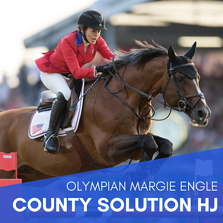 Olympian Margie Engle - County Solution HJ