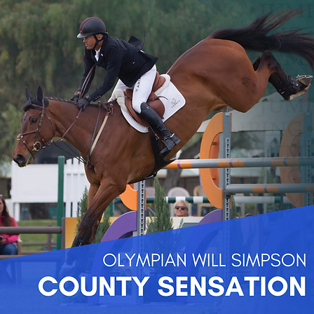 Olympian Will Simpson - County Sensation