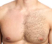 Chest waxing for men in Benidorm by Steve Marsden Pride Massage