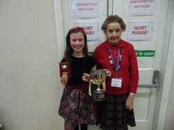 Elsa Mooney & Vera Ledwidge, U10 C5 (2