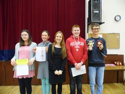 Verse-Speaking Winners