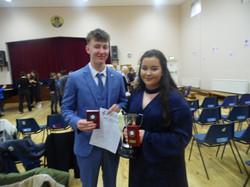 Ruby Boland and David O'Carroll, U17 C14
