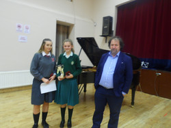 Alanna Griffin Lawless and Catherine Casey with Prof. Reamonn Keary, U19 C45 (2)