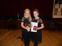 Brielle Finn and Aine Kinch, U14 C13 (2)
