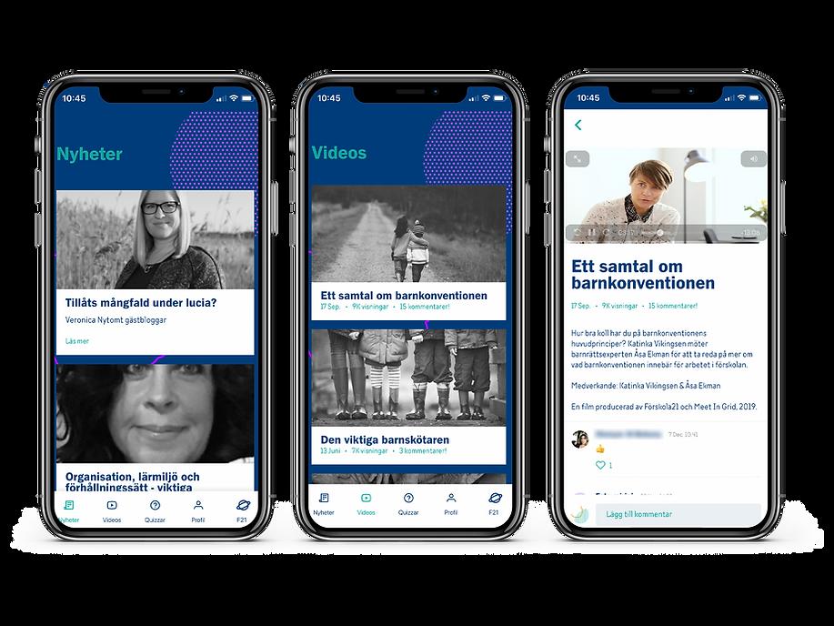 Förskola21 appen, gratis fortbildning