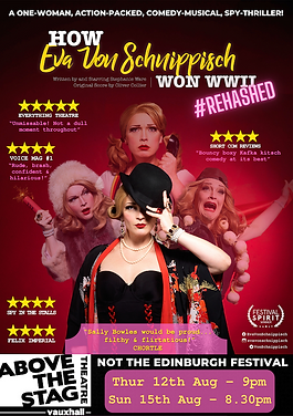 How Eva Won WWII #rehashed at Above The Stag Theatre AUG '21