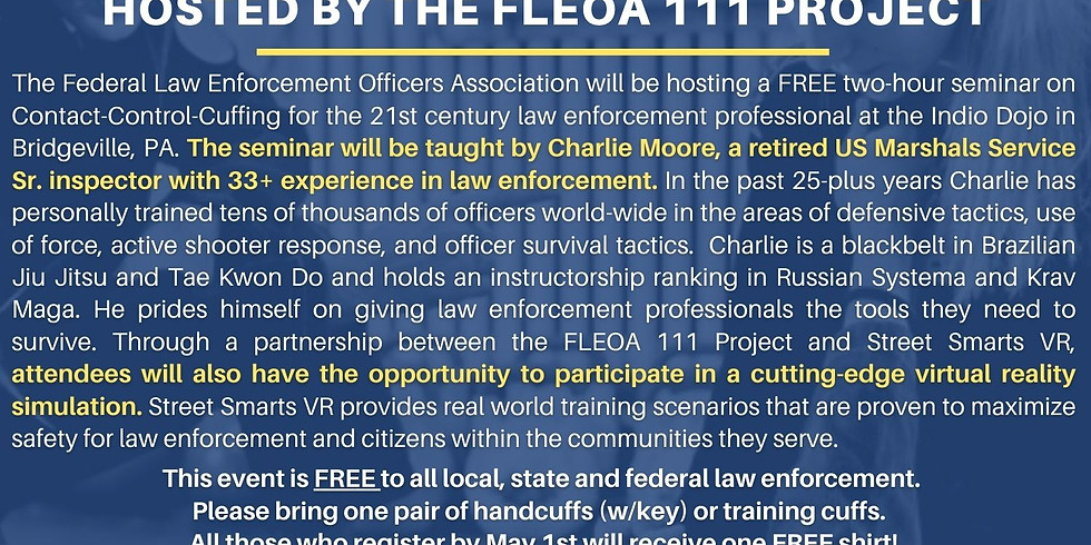 FREE Law Enforcement Only Seminar Hosted by the FLEOA 111 Project