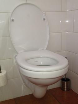 Toilet aanpassen
