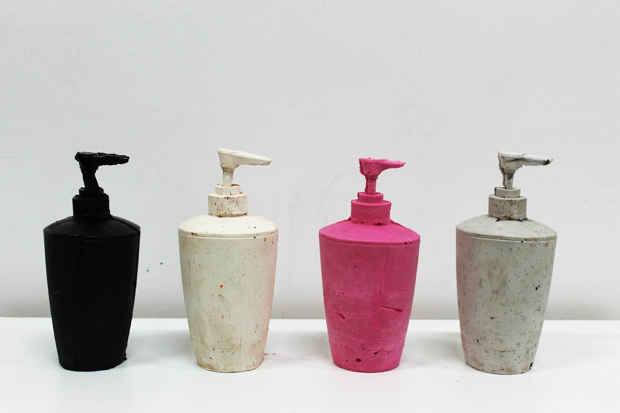 Evdokia Georgiou, Soap Dispensers, 2015
