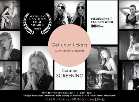 MELBOURNE FASHION WEEK CURATED SCREENING