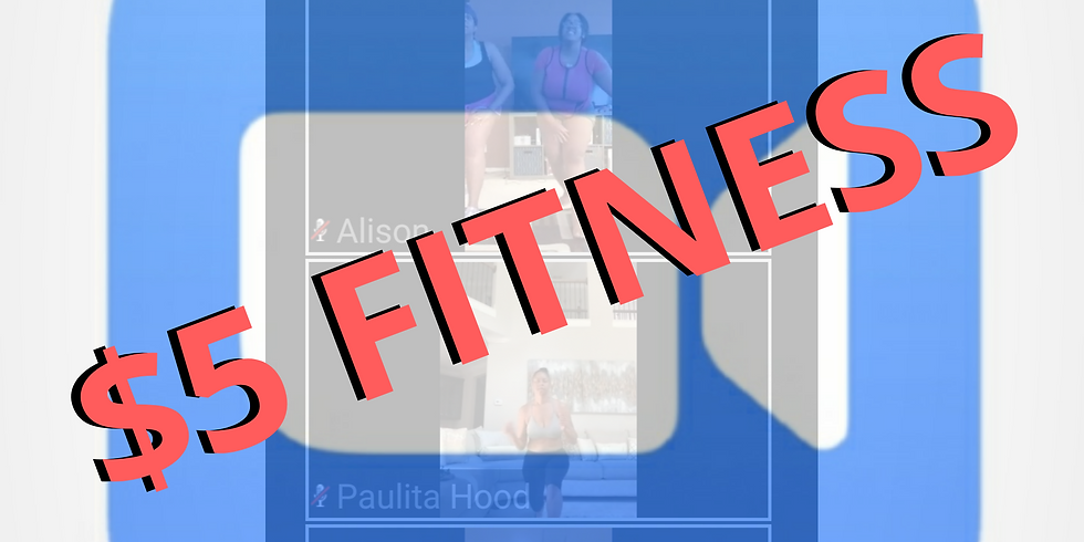 Monday - Live Stream 30-Minute Workout (Morning Class)