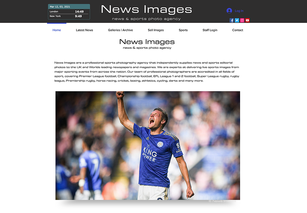 News Images are proud to announce the launch of their all new website.  Home for all the latest news and sport images from around the nation.
