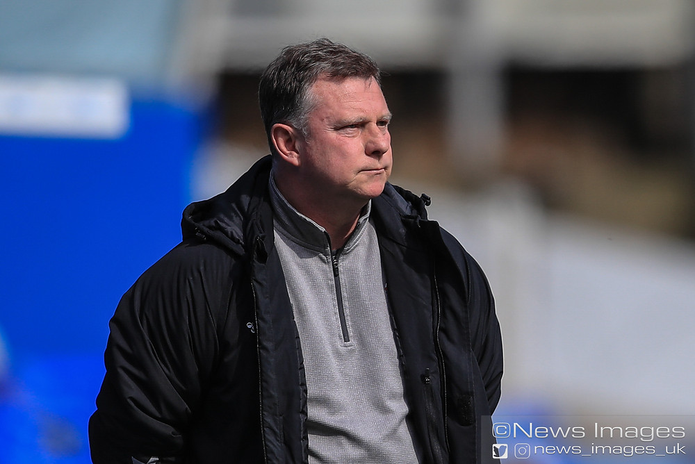 Mark Robins manager of Coventry City during the game