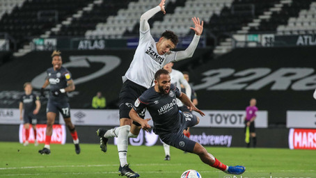Derby County 2-2 Brentford - A game of two half's...