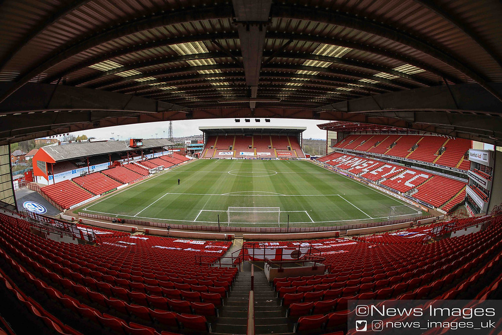 A general view of Oakwell