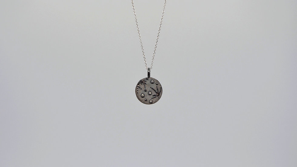 THE FULL/NEW MOON DOUBLE-SIDED MEDALLION