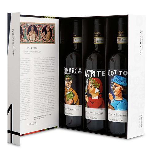 Sagrantino 'Caprai 4 Love' Limited Edition 2013 (3 bottles)