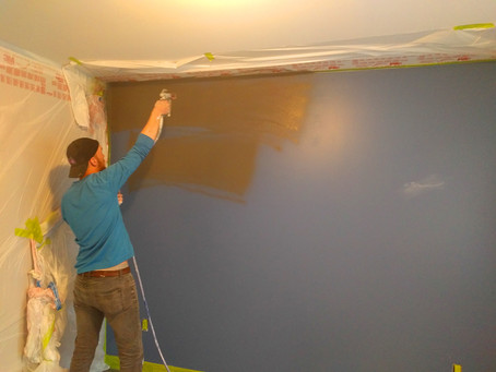 HOW TO PREPARE FOR AN INTERIOR PAINTING
