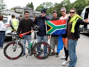 Sentiinel on the podium at UltraMan UK