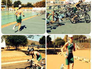 Gold for Madelaine le Roux at Africa Youth Games 2014