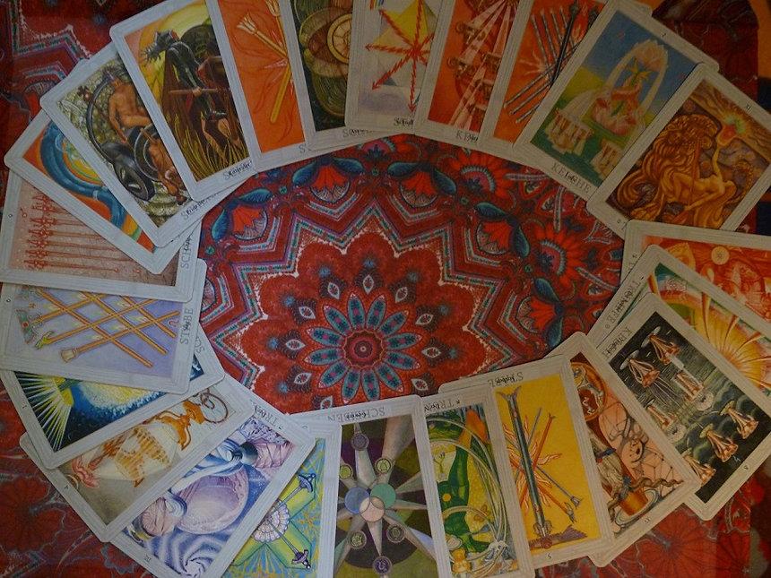Tirage cartes tarot