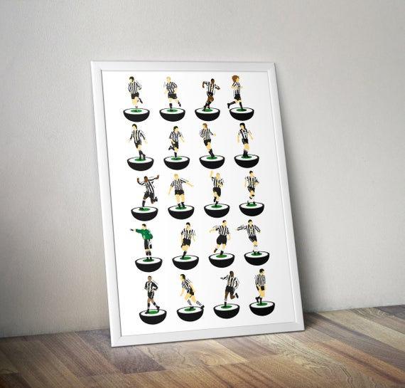 Newcastle United A3 Print
