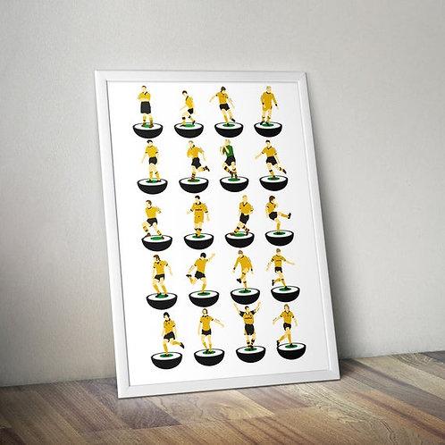 Wolverhampton Wanderers A3 Print