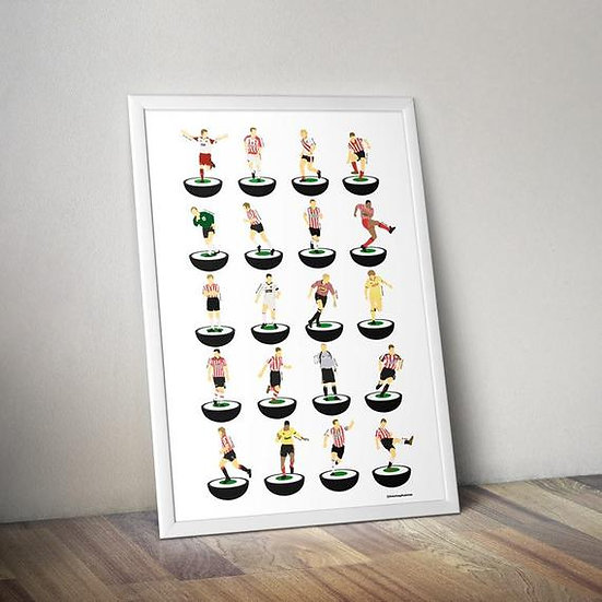 Sheffield United A3 Print