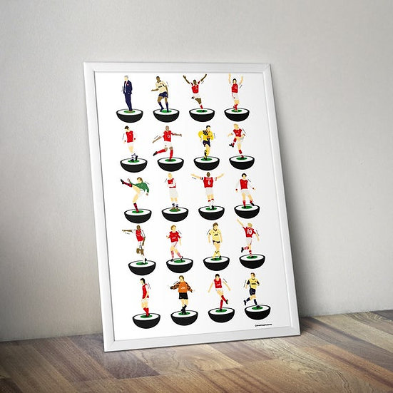 Arsenal A3 Print