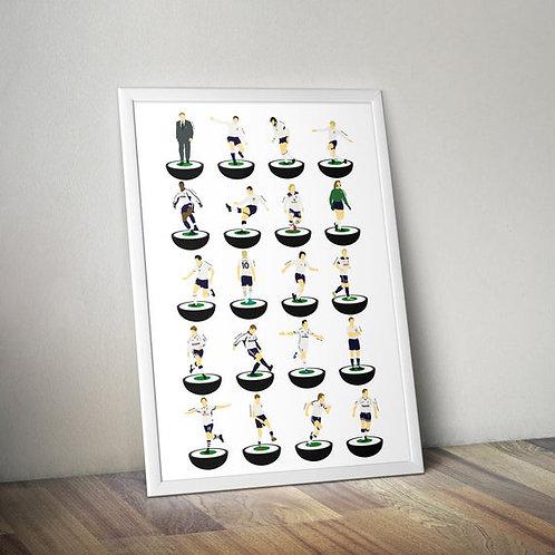 Tottenham Hotspur A3 Print