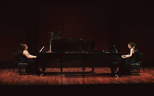Youkyoung Kim and her partner have won the United States International Duo Piano Competition