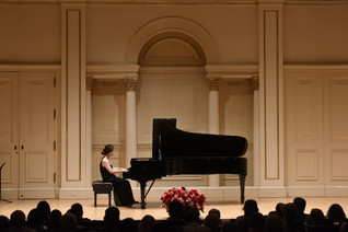 Sejeong Jeong has won the 1st place, American Protege International Piano & Strings Competition