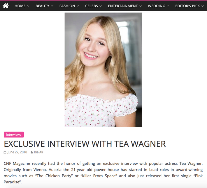 Exclusive Interview with CNF Magazine