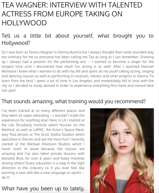 Interview with moviebegins.com