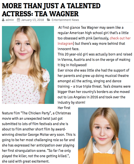 ARTICLE: Girls Mag