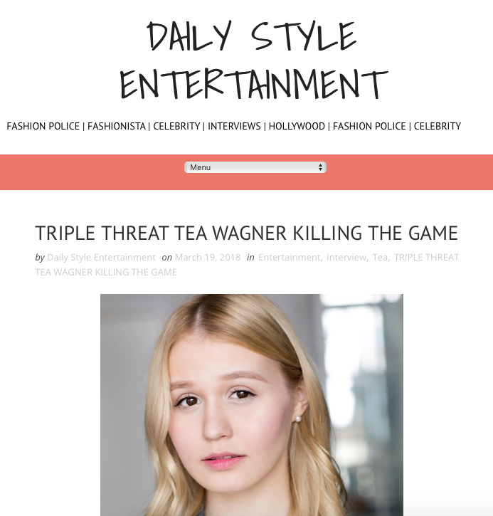 ARTICLE: Daily Style Entertainment
