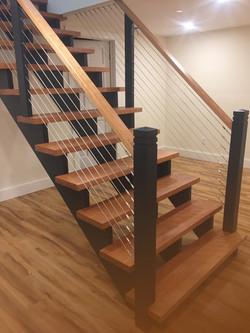 Custom Cherry Stairs