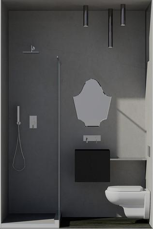 Bathroom (rendering)