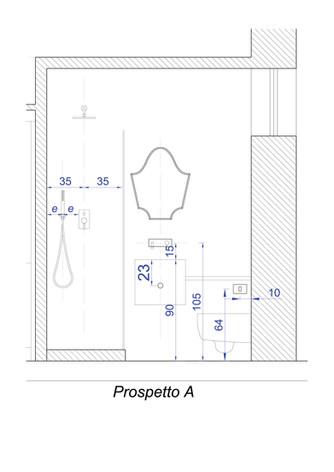 bathroom elevation