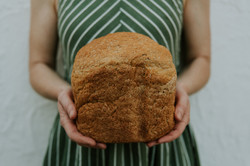 Wholemeal lentil bread