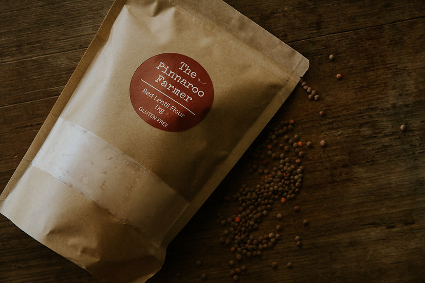 Red Lentil Flour - 1kg