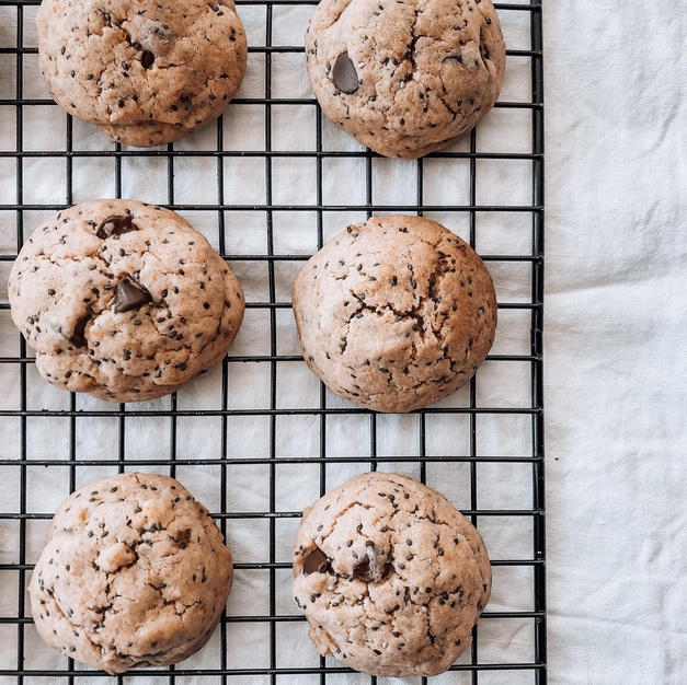 Cookies - Chia seed, Orange & Chocolate