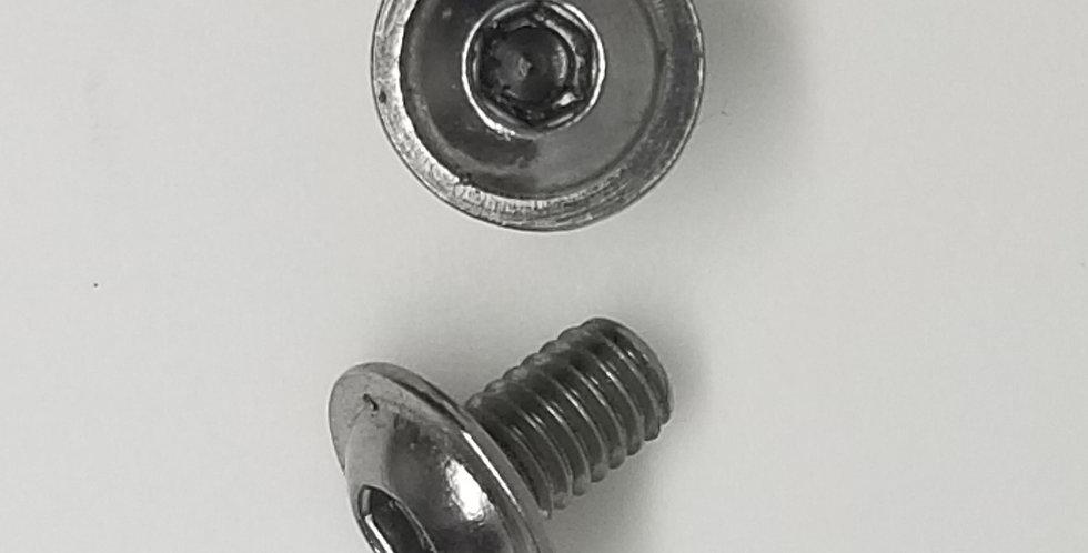 6mm x 9.7mm Hollow SS (3pk)