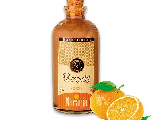 Licor de chocolate naranja