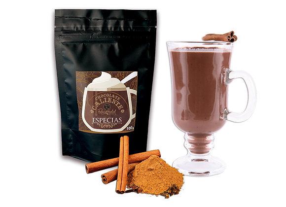 Chocolate caliente en polvo   Especias
