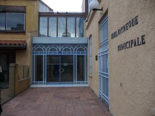 Cours-conférences Médiathèque municipale de Thuir, reportés