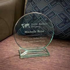 I've never gotten a plaque before! I fan