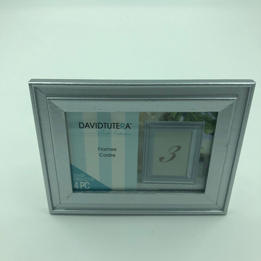 Silver Frames for Table Numbers