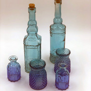 Blue/Green Glass Collection